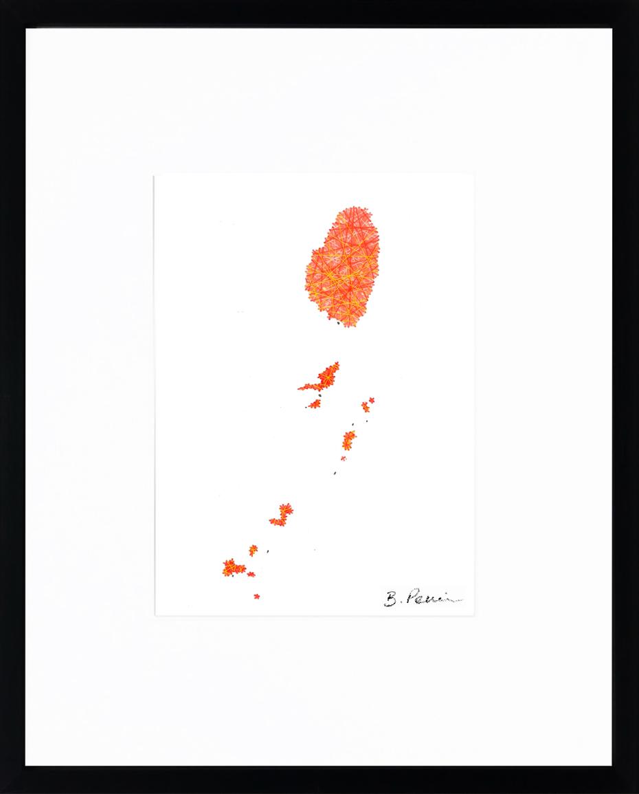 Baptiste Penin - Tableau couture - Saint Vincent et les Grenadines