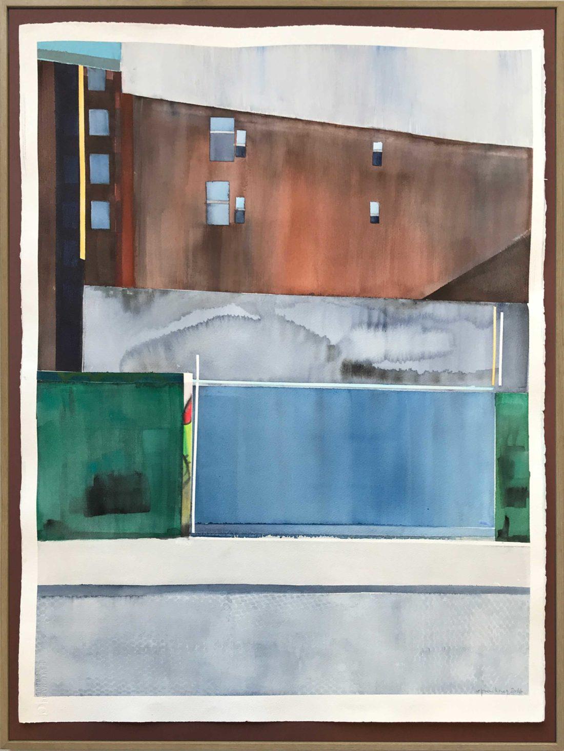 Eliane Pouhaer - Aquarelle - New York