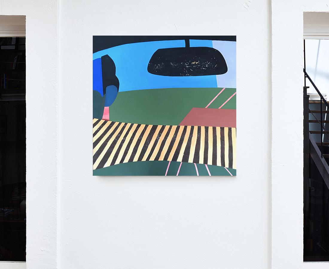 Pascaline Sauzay - Peinture - On the road