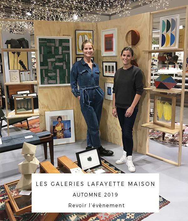 Photo ouverture - Pop up Galeries Lafayette Maison - Automne 2019