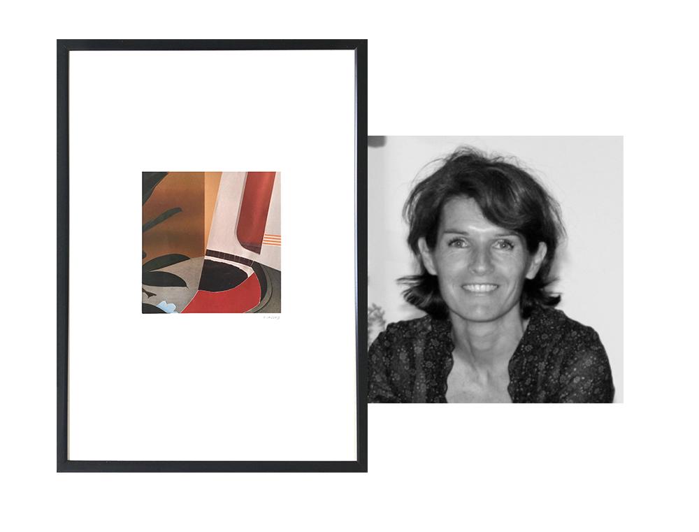 Portrait de l'artiste Pascaline Sauzay