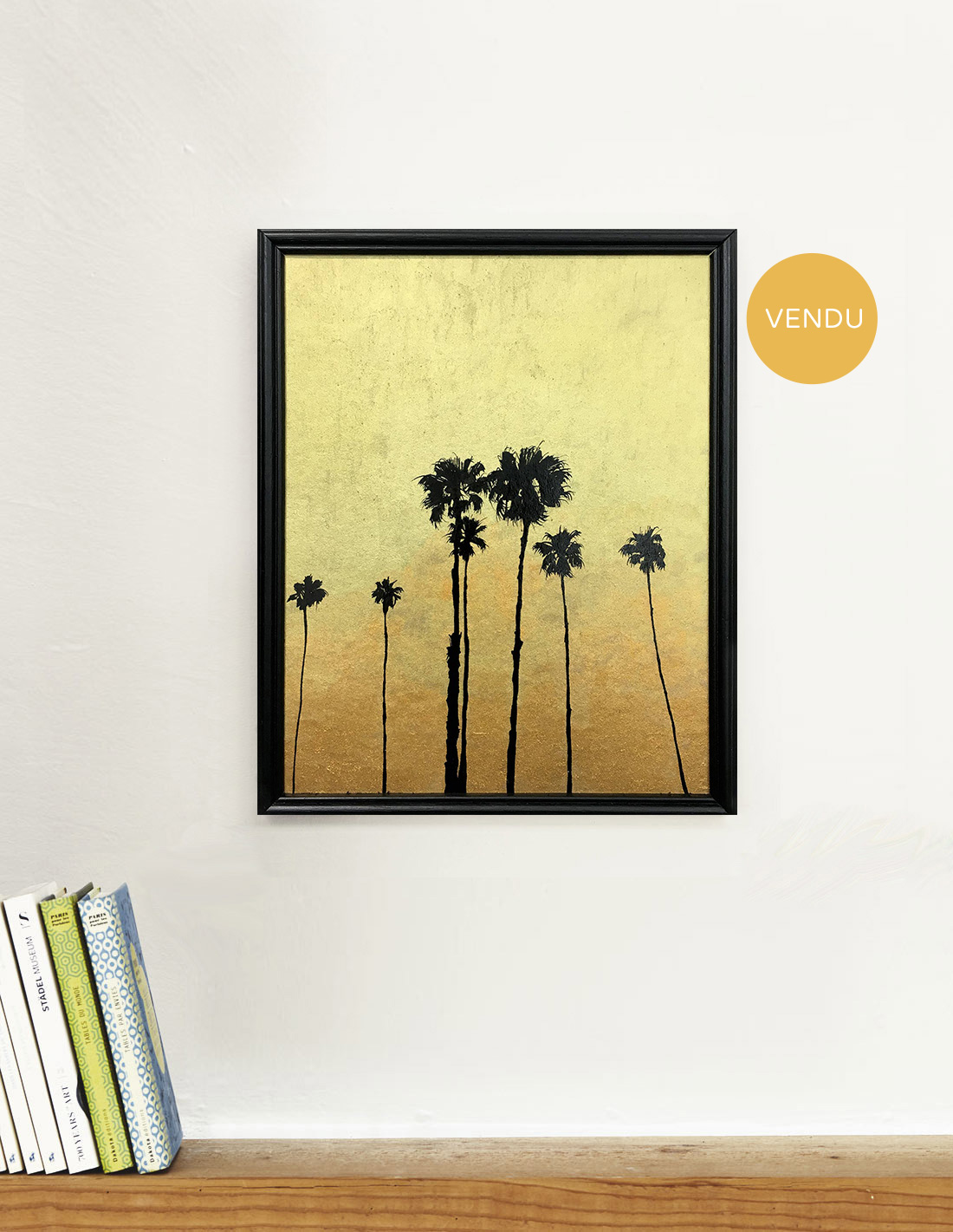 Moyens palmtrees - Tableau - Hubert Jouzeau