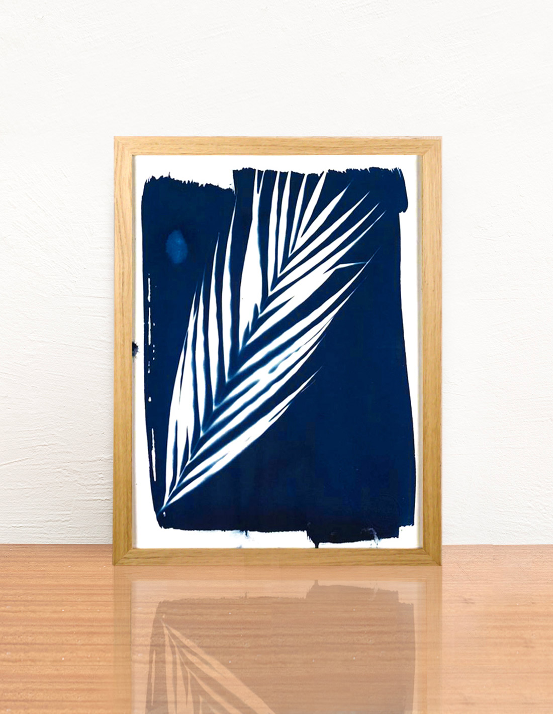 Invincible été - Cyanotype - Palme