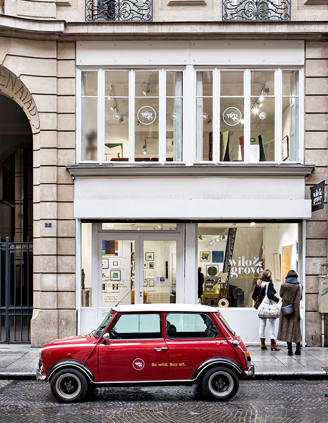 Pop up galerie rue Amelot - Cinquième édition