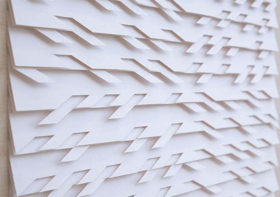 Fernando Daza - Oeuvre sur papier - Monochrome Basik 3