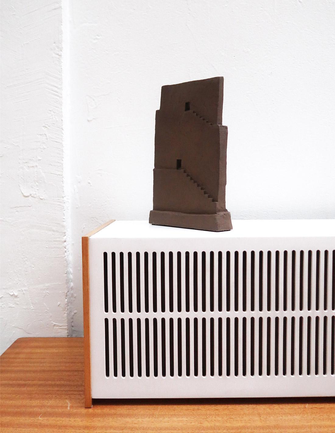 Agnès Nivot - Sculpture - Escaliers Paroi 1