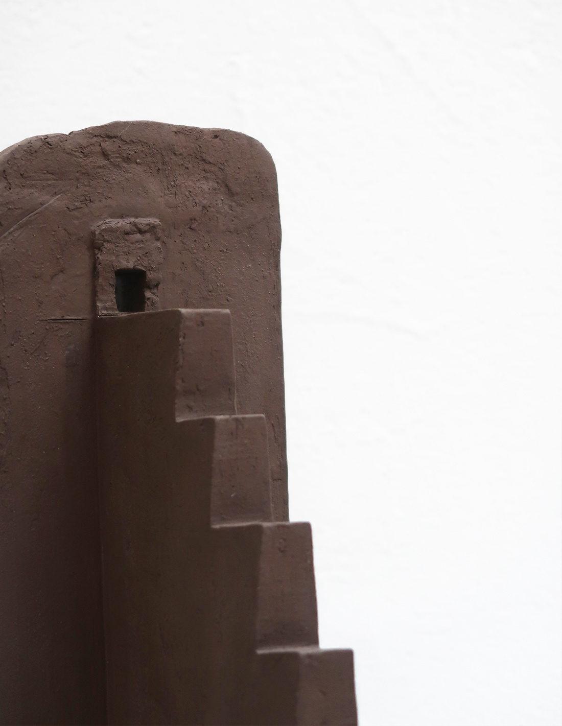 Agnès Nivot - Sculpture - Escaliers pyramide