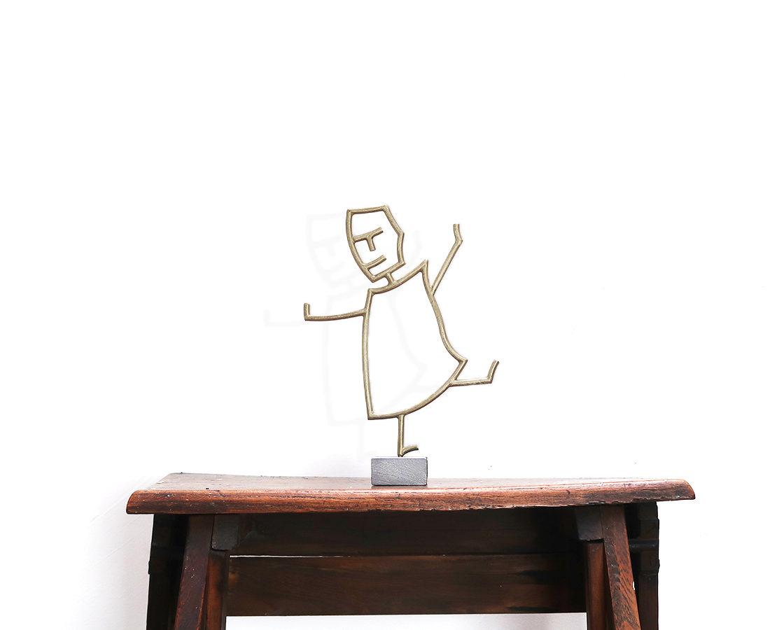 Lucia volentieri - Sculpture - Etta