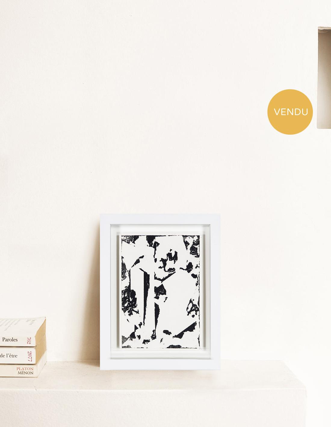 Laurent Karagueuzian - Oeuvre sur papier - Papiers écorchés 213