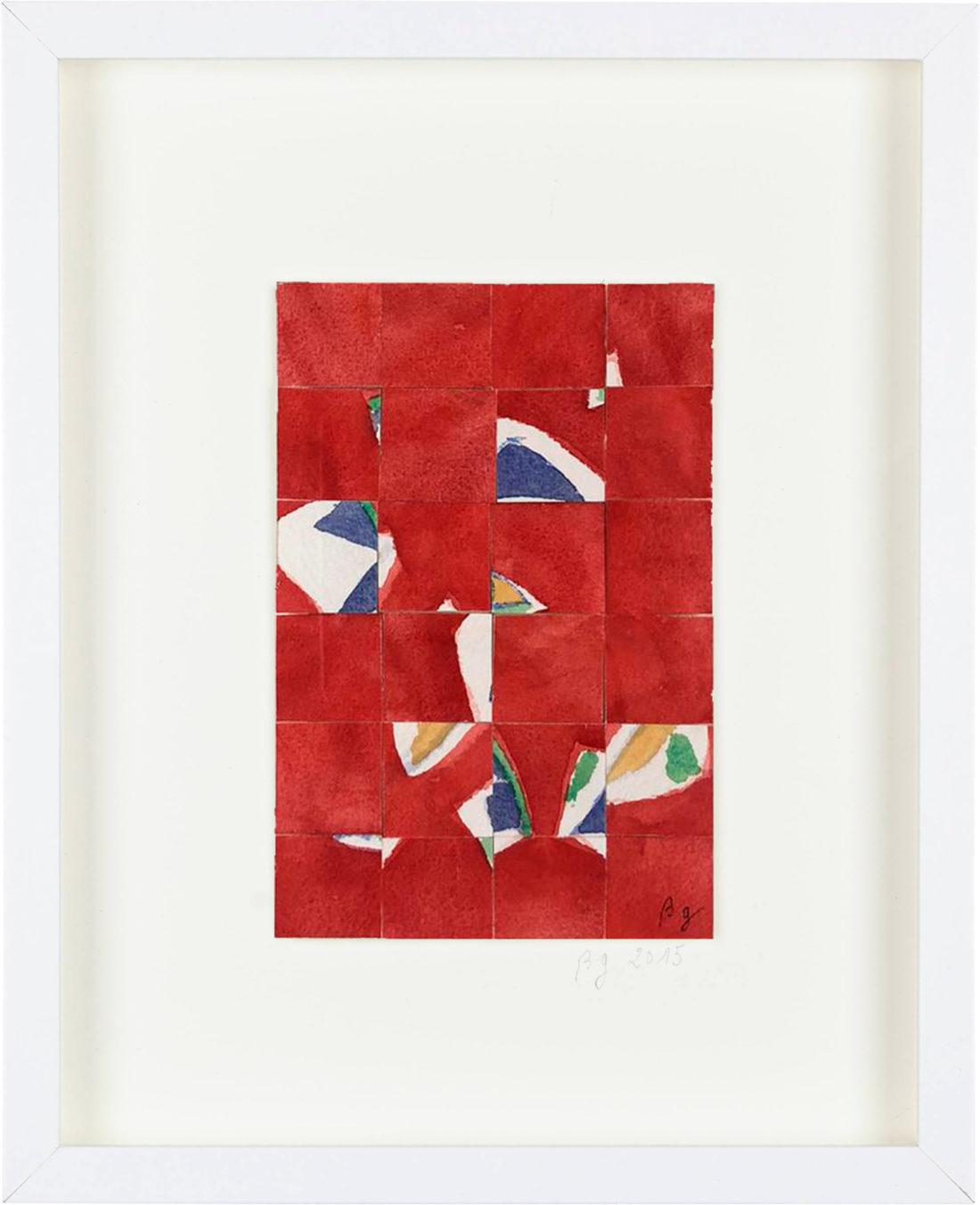 Bernard Gortais - Oeuvre sur papier - Composition 066