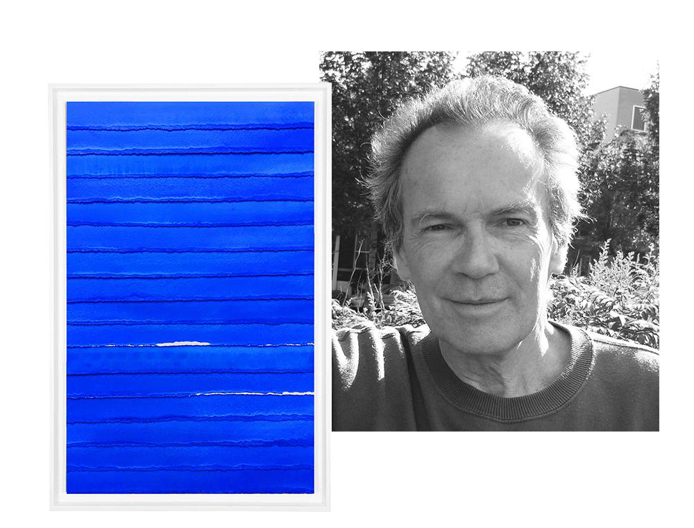 Portrait de l'artiste Bernard Gortais