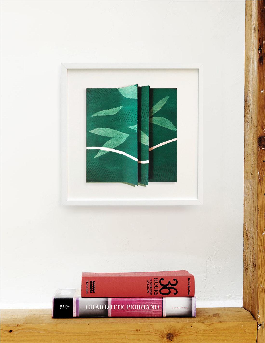 Bernard Gortais - Oeuvre sur papier - La vie des plis