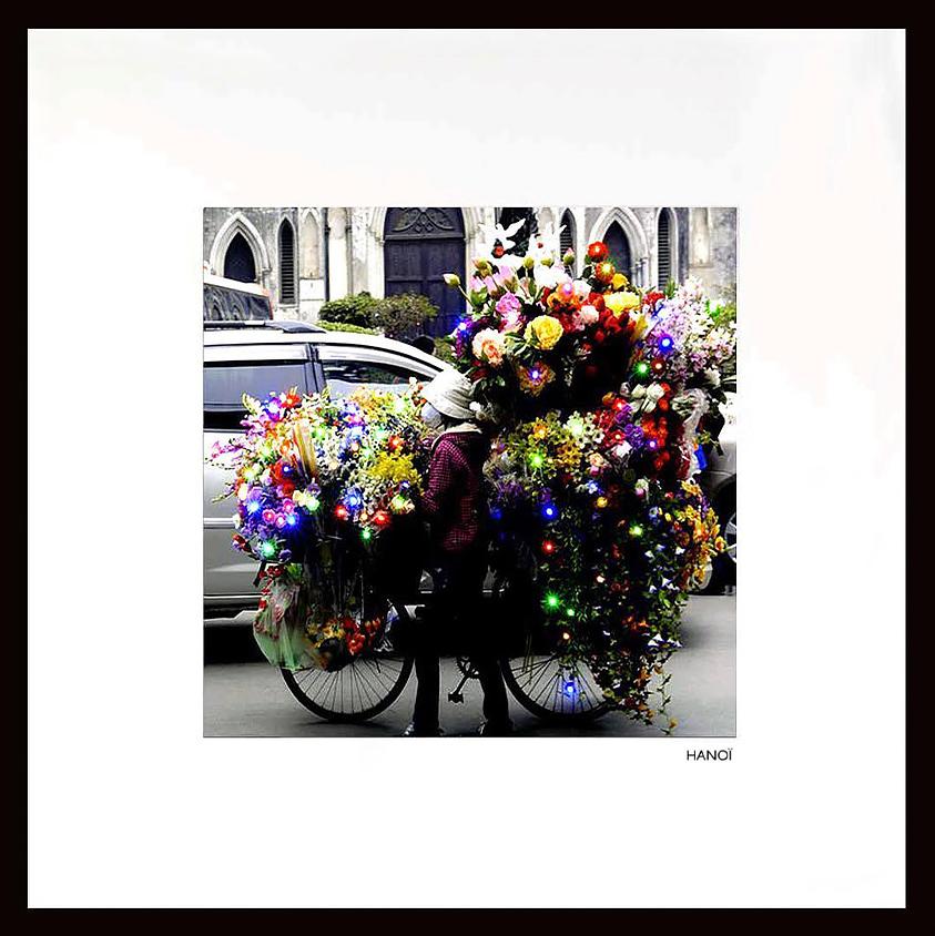 Mises en lumière - Marchande de fleurs - Vietnam - Packshot