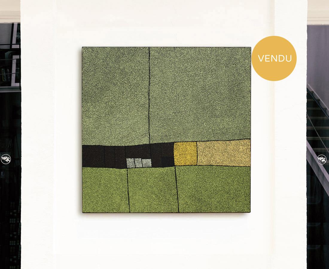Marjolaine de La Chapelle - Sans titre GRAND vert