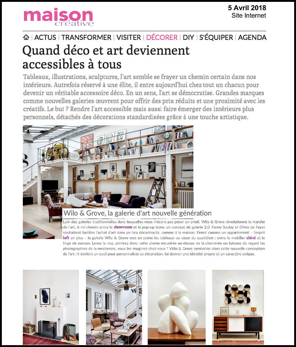Maison créative-article[presse]