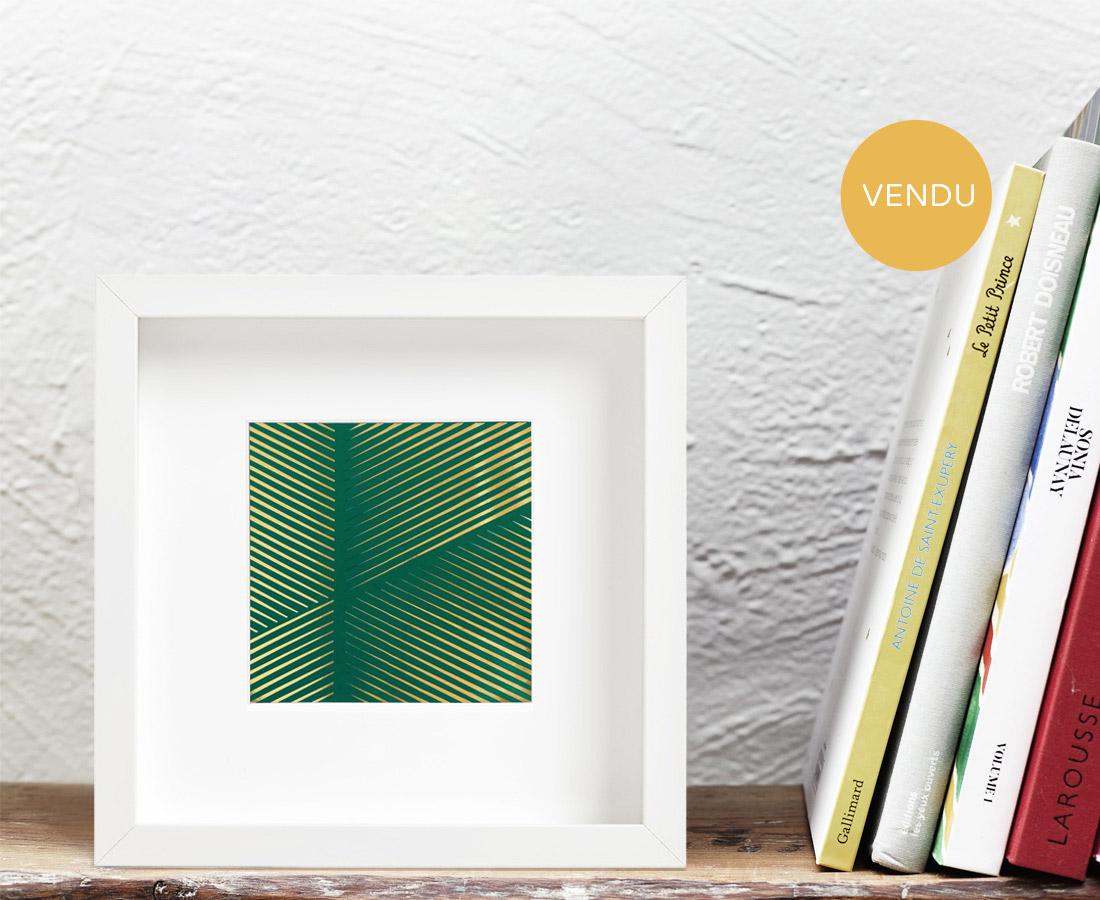 Marion Pillet - Vert et or