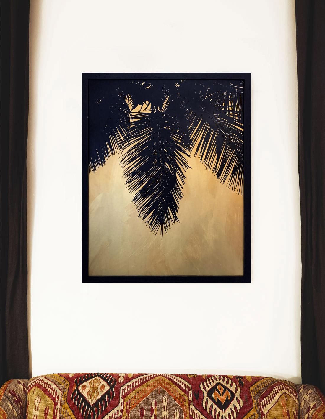 Hubert Jouzeau - Tableau - Palm 2