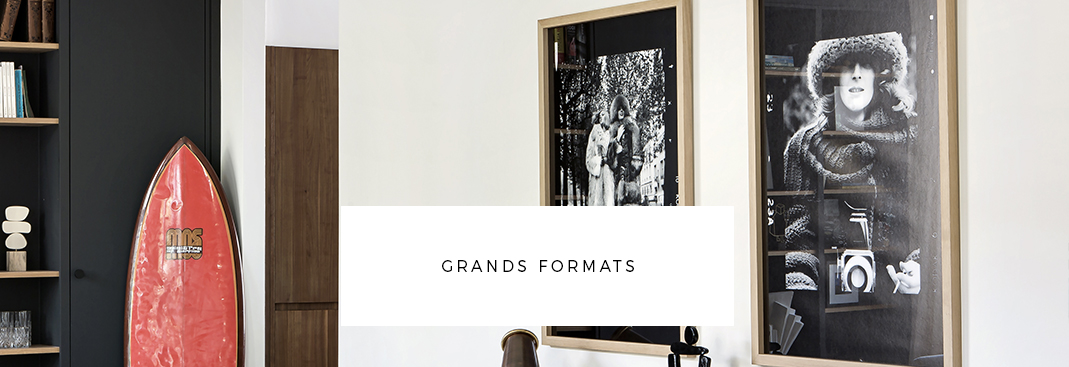 Grands formats d'oeuvres - Bandeau