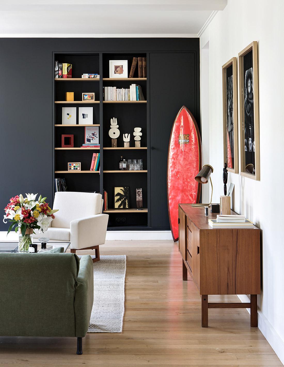BE SURFING - Shooting d'ambiance chez Yann & Laure -Salon