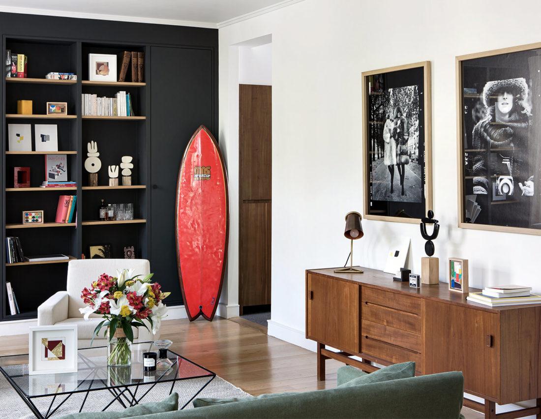 BE SURFING - Shooting d'ambiance chez Yann & Laure - SALON