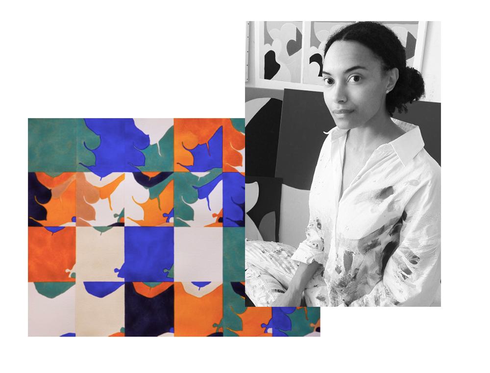 Portrait de l'artiste Raphaële Anfré