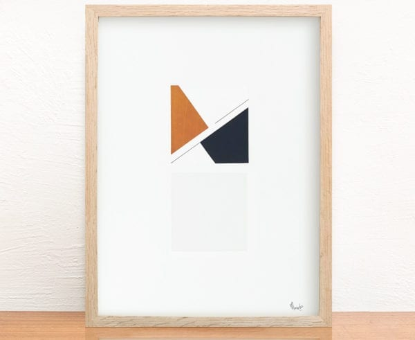 Marie Amédro - Collage - Visible invisible n°6