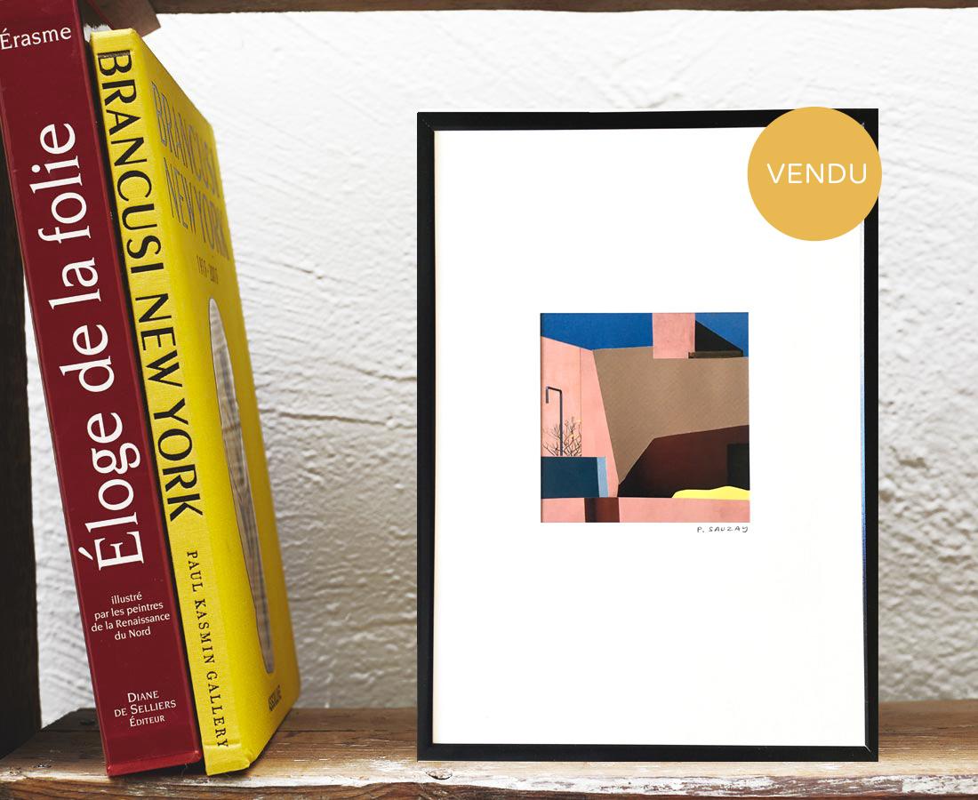 Pascaline Sauzay - Collage